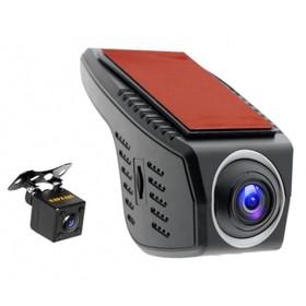 Видеорегистратор Carcam Каркам U4-HD, две камеры, обзор 140°, 1280х720