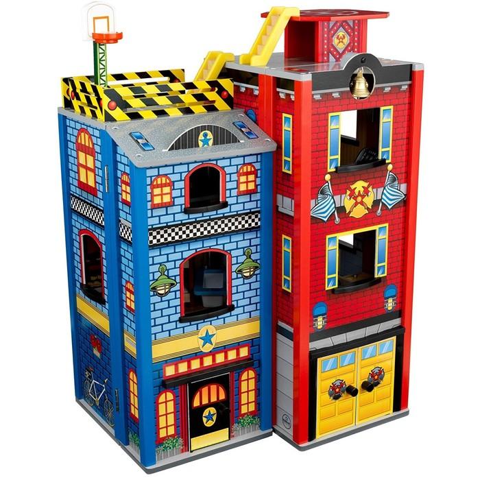 Игровой набор для мальчиков «Здание спасательной службы», 26 элементов