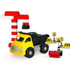 Конструктор с игрушкой «Грузовичок Джамбо», 40 элементов