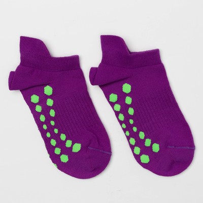 Носки женские, цвет фиолетовый неон, размер 23