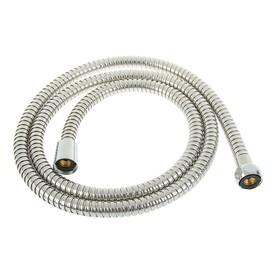 Душевой шланг усиленный, 150 см, с металлическими гайками, нержавеющая сталь