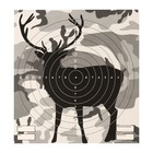 "Target ""Deer"" for shooting from the pneumatic weapon,14 x14 cm,distance of 10 meters"