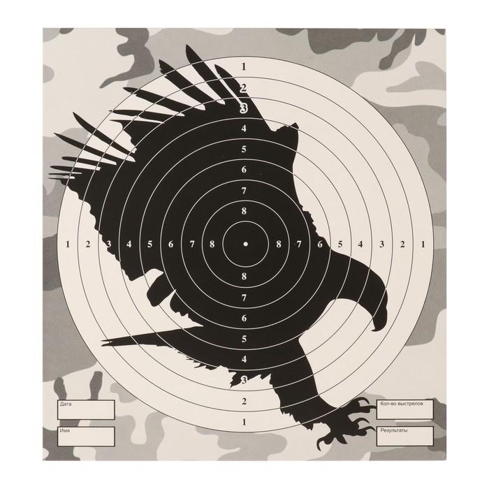 """Мишень """"Орел"""" для стрельбы из пневматического  оружия,14 х14 см, дистанция 10 метров"""