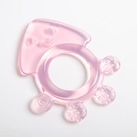 Прорезыватель силиконовый «Медуза», цвет МИКС