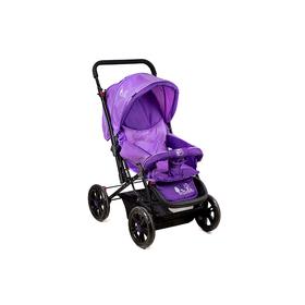 Коляска LOU LOU прогулочная Jardin E-400 LUX, цвет фиолетовый Ош