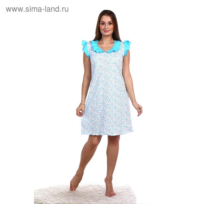 Сорочка женская НС42 цвет МИКС, р-р 50