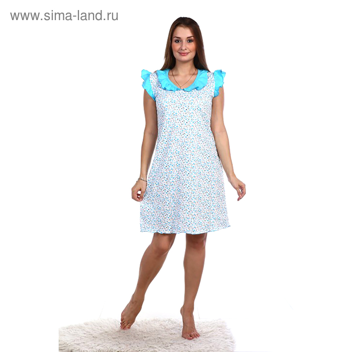 Сорочка женская НС42 цвет МИКС, р-р 52