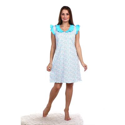 Сорочка женская НС42 цвет МИКС, р-р 54