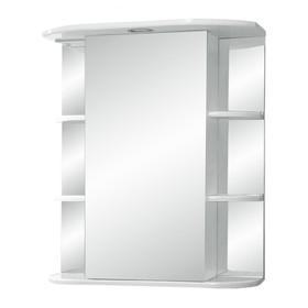 "Зеркало-шкаф ""Герда, светильник"" 55  фацет левое"