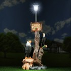 """Садовый фонарь """"Дерево с фонарем: два Орла"""" 76х43см"""