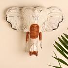 """Сувенир дерево """"Голова Слона"""" 35х10х30 см"""
