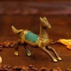 """Souvenir bronze """"Horse"""" 11,5x2,5x8 cm"""