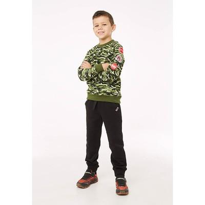 Брюки для мальчика, рост 98 см, цвет чёрный