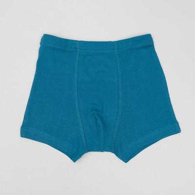 Трусы-боксеры для мальчика (3шт), рост 122/128 см, цвет микс