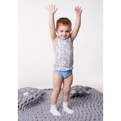 Майка для мальчика, рост 98/104 см, цвет микс