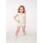 Комплект для девочки (майка, трусы), рост 80/86 см, цвет микс 403-004-00001_М