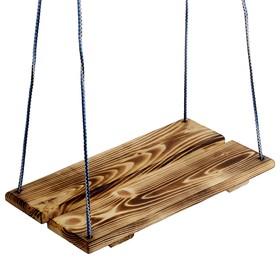 Качель подвесная, деревянная, термо, 40х22см Ош