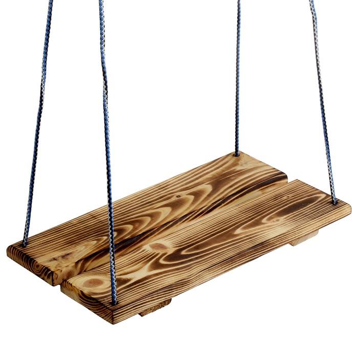 Качели подвесные, деревянные, термо, 40х22см