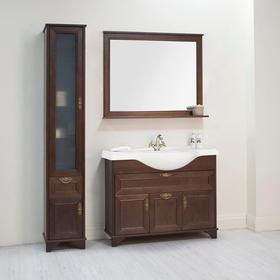 Зеркало «Идель 85», цвет дуб шоколадный