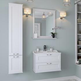 Зеркало «Леон 65», цвет дуб белый