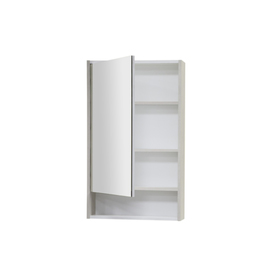 Зеркало-шкаф «Рико 50», цвет белый ясень фабрик
