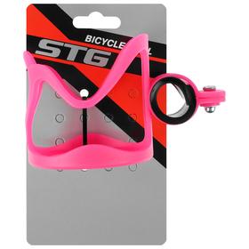 Флягодержатель STG CSC-032S детский, цвет розовый - фото 7305516