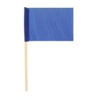 Флажок длина 25 см, 10x15, цвет синий