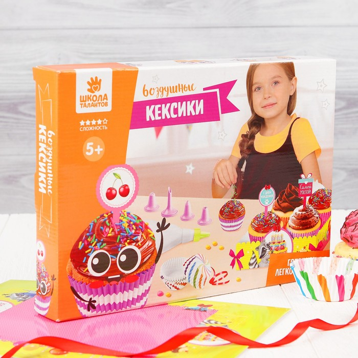 """Набор для создания кексов """"Пожелания"""" - фото 180965971"""