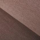 Бумага гофрированная, 904 серо-коричневая, 0,5 х 2,5 м