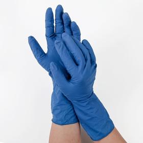Перчатки латексные неопудренные XL пара Ош