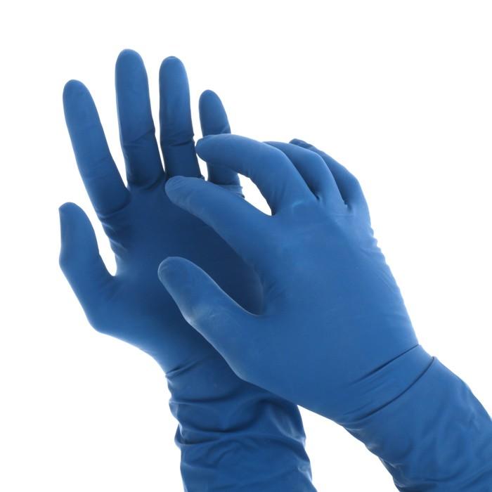 Перчатки латексные неопудренные, размер S, 50 шт/уп