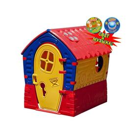 Домик 'Лилипут', цвет жёлтый, красный, синий, со светом и музыкой Ош