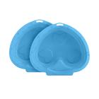 """Песочница-бассейн """"Сердечко"""", цвет светло-голубой"""