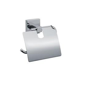 Бумагодержатель с крышкой Fixsen FX-11110, хром