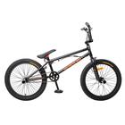 """Велосипед 20"""" Stark Madness BMX 1, 2018, цвет чёрный/оранжевый"""