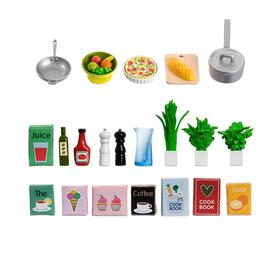 Игровой набор кухонных аксессуаров, 21 штука