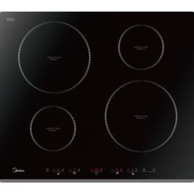 Варочная поверхность Midea MIH64516F, индукционная, 4 конфорки, сенсор, чёрная
