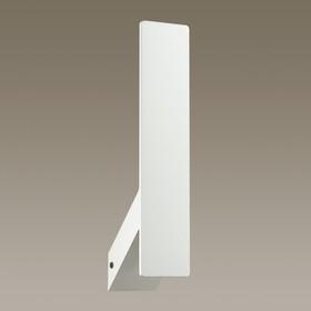 Бра MURALIA 1x5Вт LED 3000K белый 7,5x6x29,2см