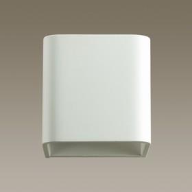 Бра MURALIA 1x5Вт LED 3000K белый 10,2x10,2x10,2см