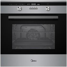 Духовой шкаф Midea MO 781E4 SP X, 65 л, черный/серебристый