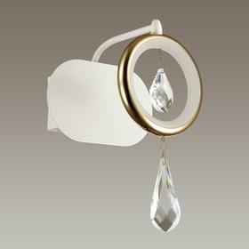 Бра ORIO 1x6Вт LED 4000K  белый, хром, золото 15x16x22см