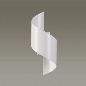 Бра BOCCOLO 1x5Вт LED 3000K белый 14,5x12,6x30см