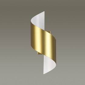 Бра BOCCOLO 1x5Вт LED 3000K золото 14,5x12,6x30см