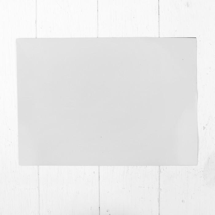 Доска магнитно-маркерная мягкая 20 × 30 см, цвет белый