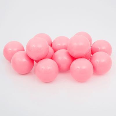 Набор шаров для сухого бассейна 500 шт, цвет: розовый