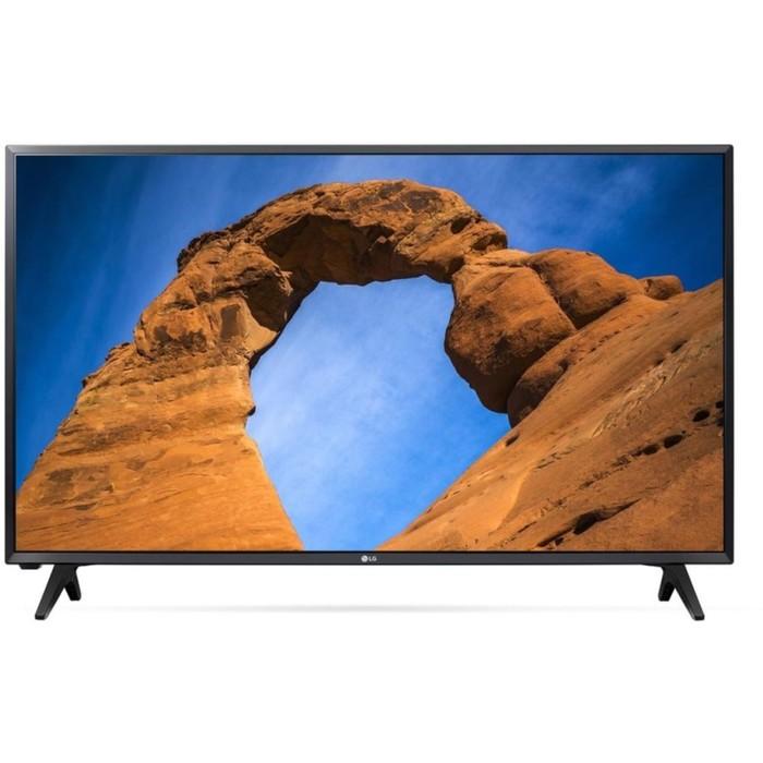 "Телевизор LG 43LK5000PLA, 43"", 1920x1080, DVB-T2, DVB-C, DVB-S2, 2xHDMI, 2xUSB, черный"
