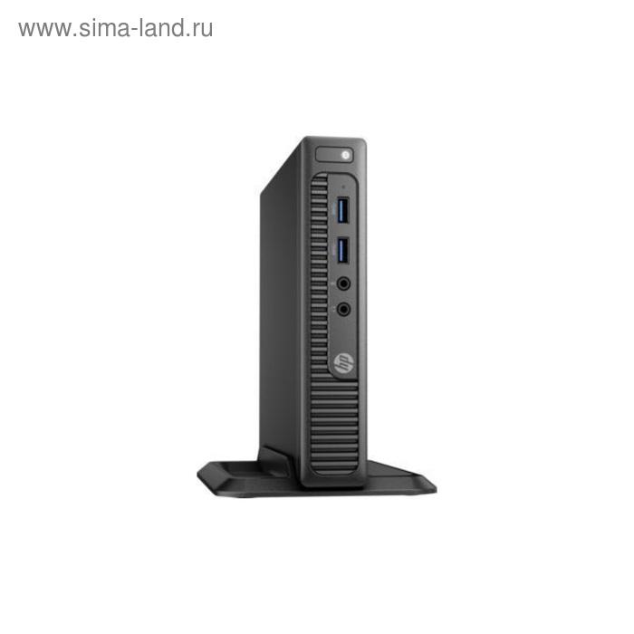 Компьютер HP 260 G2 Mini,i3 6100U,4Gb,SSD256Gb,HDG520,Win 10 Pro 64,кл,мышь,черный