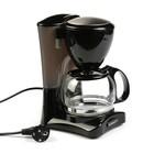 Кофеварка капельная Scarlett SC-CM33006,  0.6 л, 550 Вт, черный