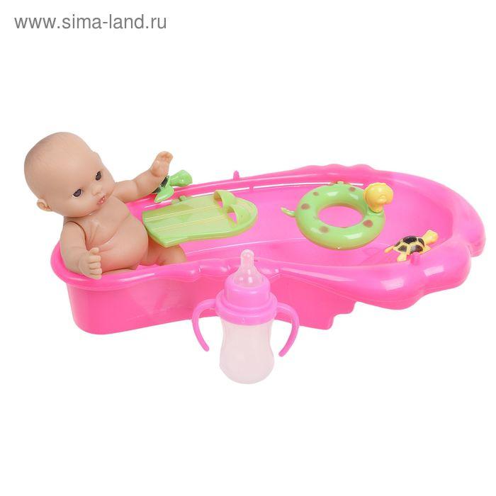 Пупс малыш в бассейне, МИКС