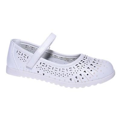 Туфли для девочки, 10 пар в коробе  7213C-6